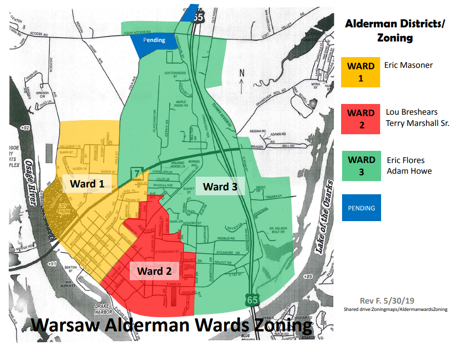 alderman ward zoning